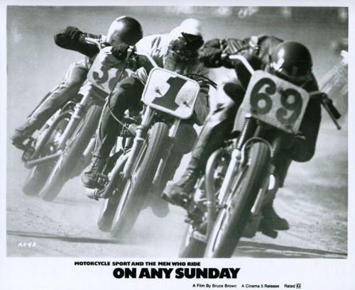"""1971, """"ON ANY SUNDAY"""""""
