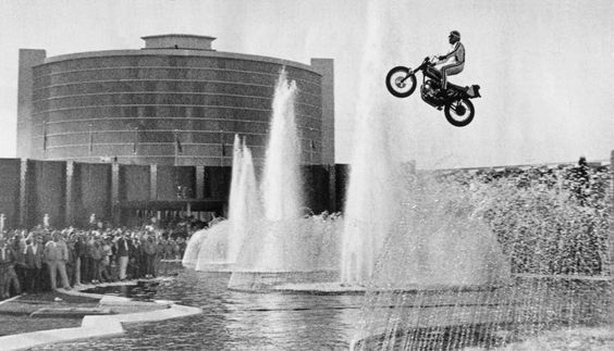Evel Knievel, Caesers Palace, 1967