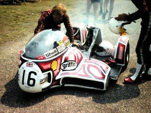 KONIG Sidecar, Mick Boddice - Neil Reardon
