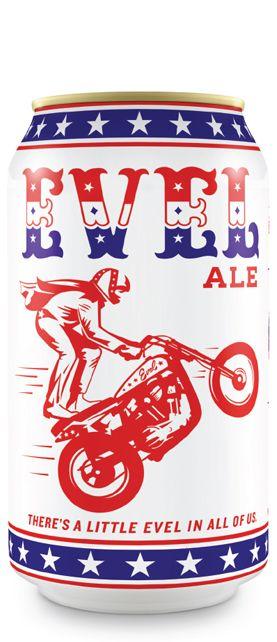 Evel Knievel, cerveja
