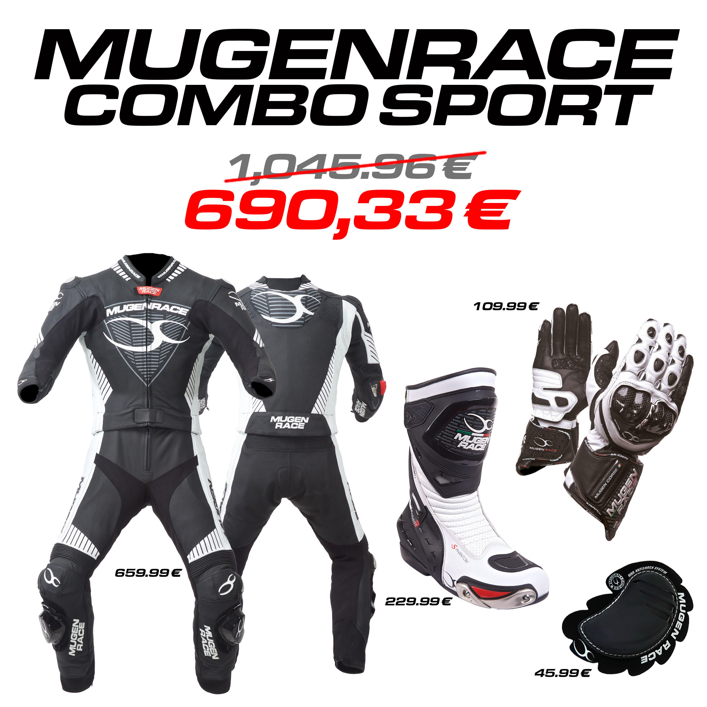 MUGENRACE combo Sport (man)