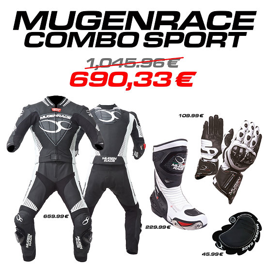MUGENRACE, combo Sport (man)
