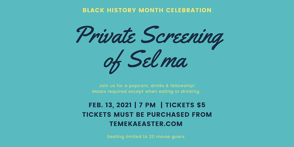 Black History Movie Experience: Selma