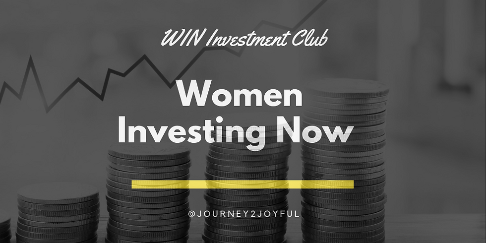 Women Investing Now Informational Meeting