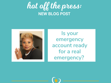 Is your emergency account prepared for an emergency?