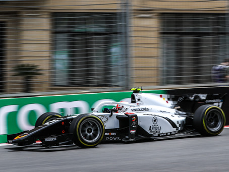 Ralph Boschung takes two top six finishes in strong Baku F2 weekend