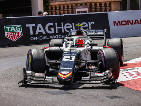 Ralph Boschung has best ever F2 weekend at Monaco