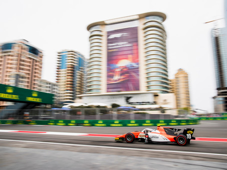 BOSCHUNG EQUALS BEST F2 FINISH IN BAKU