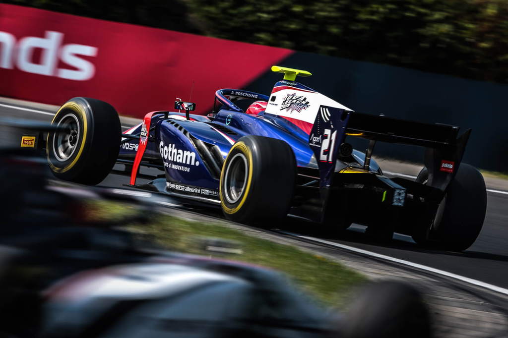 Calendrier Gotham.Ralph Boschung F2 Fia Formula 2 Championship