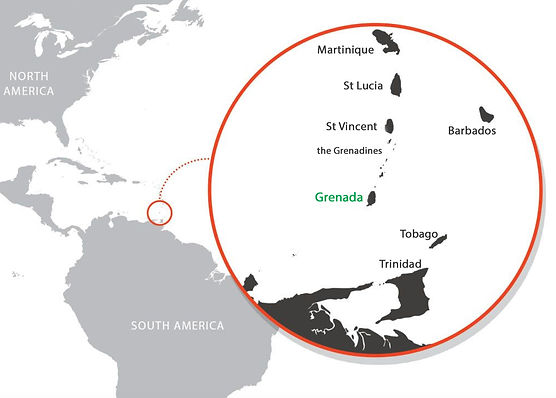 Grenada Southern Caribbean Map.jpg