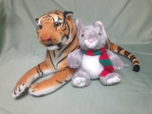 Happy Holidays from Tiny and Toby