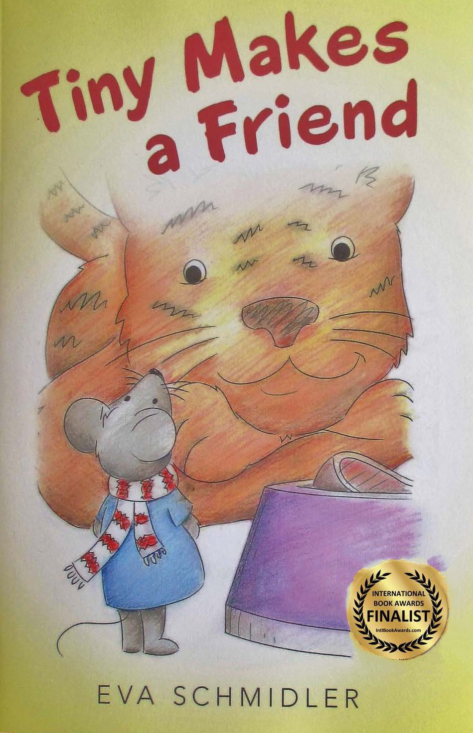 I'm proud to announce that Tiny Makes a Friend was selected as a finalist in the 2017 International Book Awards
