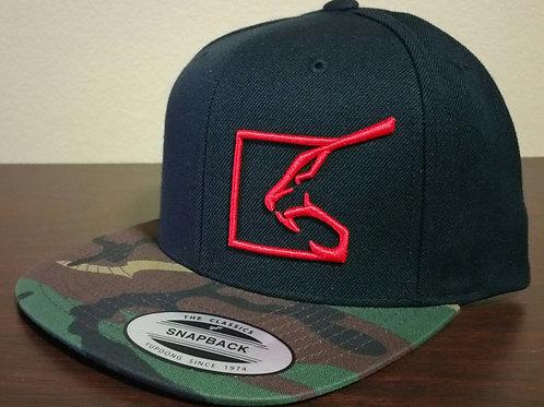 Camo Flat Bill Hat