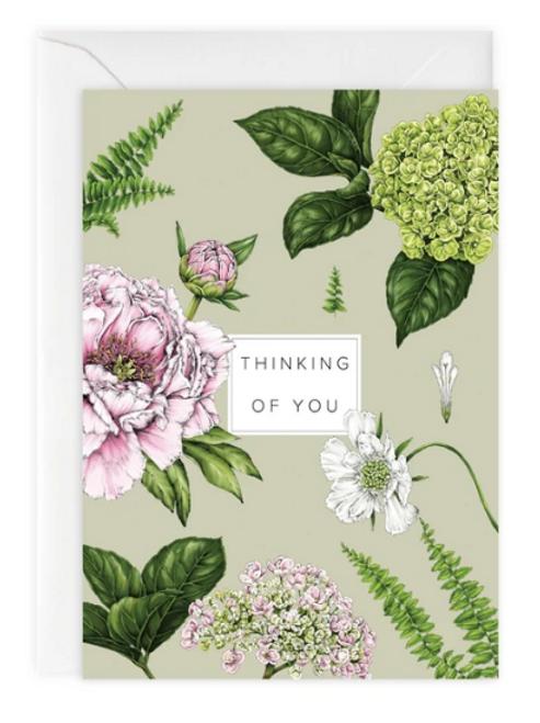 Summer Garden 'Thinking of You' Card