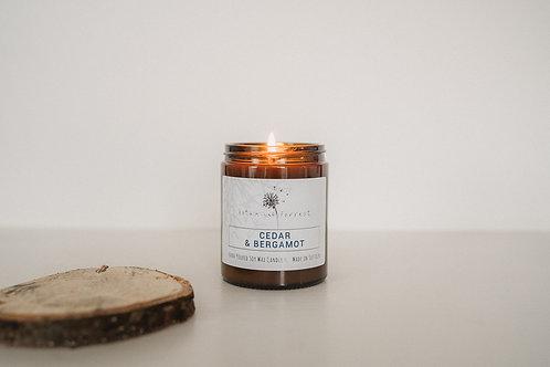 Cedarwood & Bergamot Candle