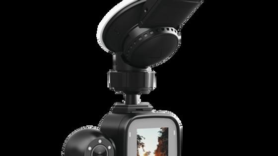 Grabador móvil para instalación en parabrisas de doble cámara con GPS