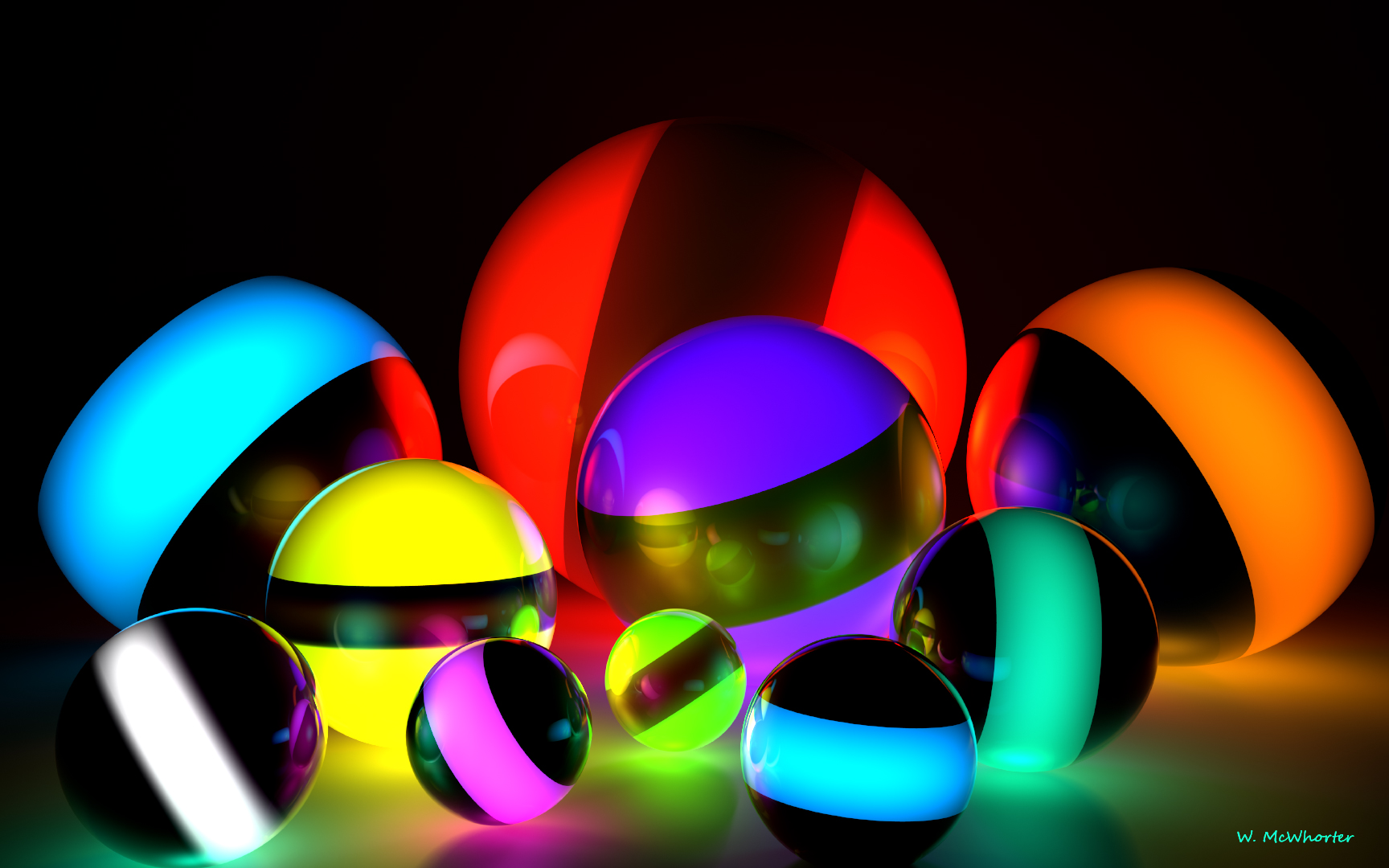 LuminanceSpheres