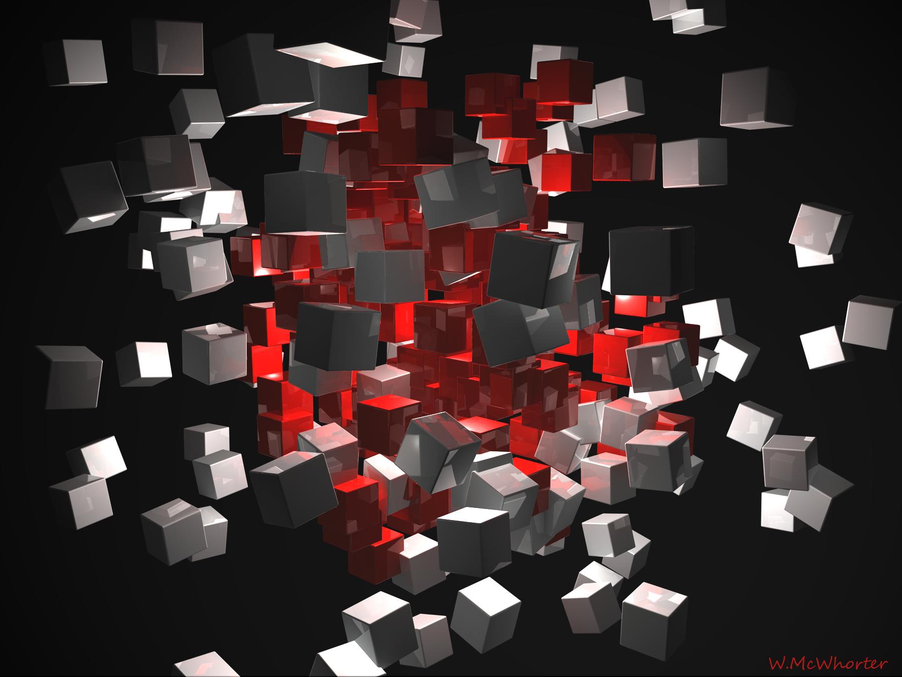Cubes_RedGrey