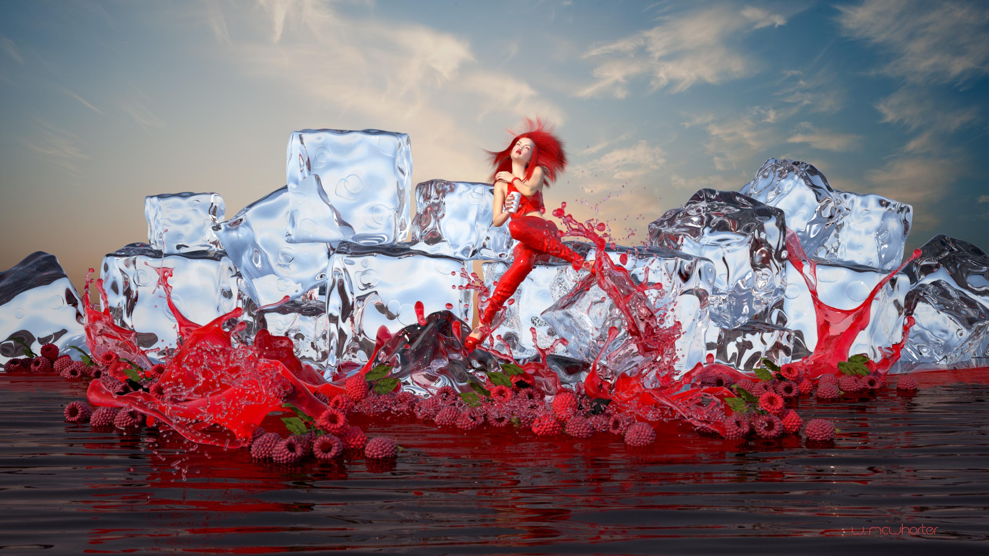 RedBerry IceCafe_32x18