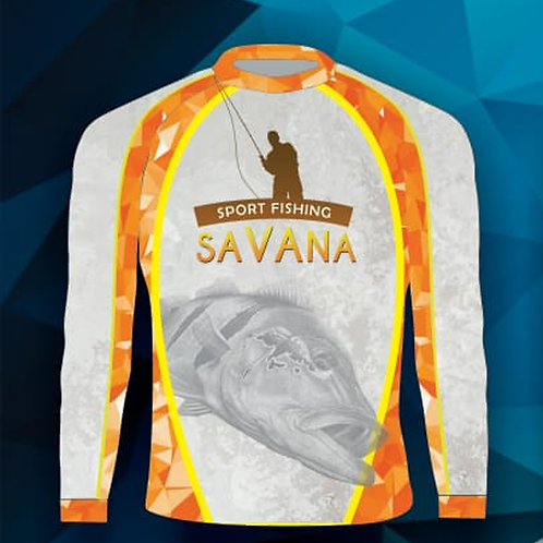 Camisa de Pesca Savana Dry UV Protection