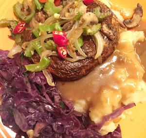 Thumper Marinated Mushroom Steaks