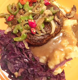 Thumper Marinated Mushroom Steaks