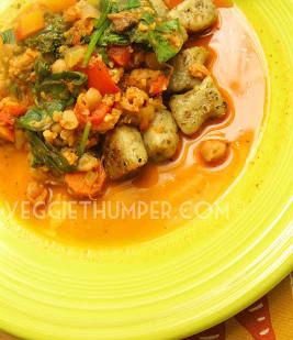 Cauliflower Chickpea Cacciatore