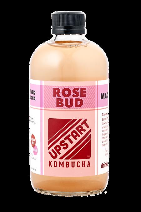 upstart kombucha rose bud flavor