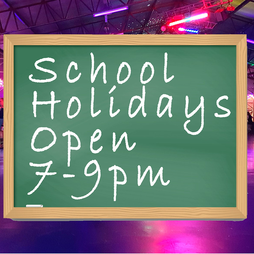 Night Time Disco Skate 7-9pm - Last week of holidays!