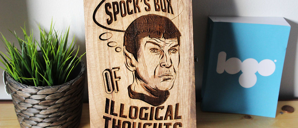 Spock Keepsake Box