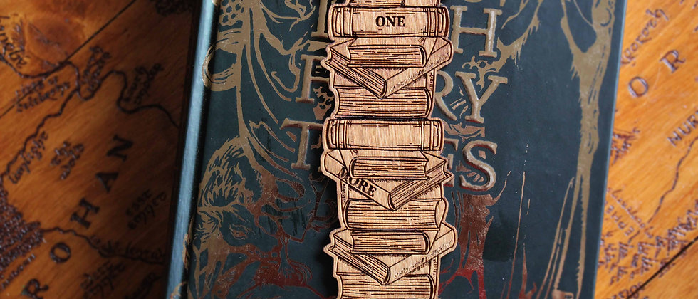 Book Stack Bookmark