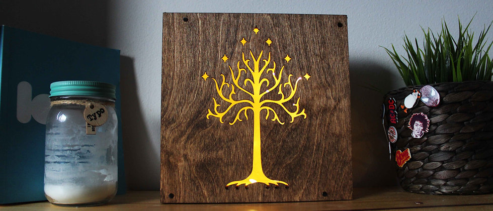 White Tree of Gondor Light Box