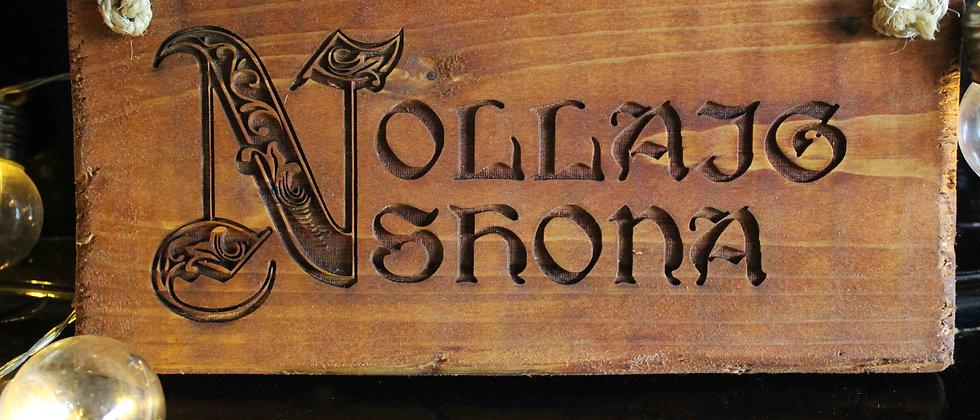 Nollaig Shona Sign