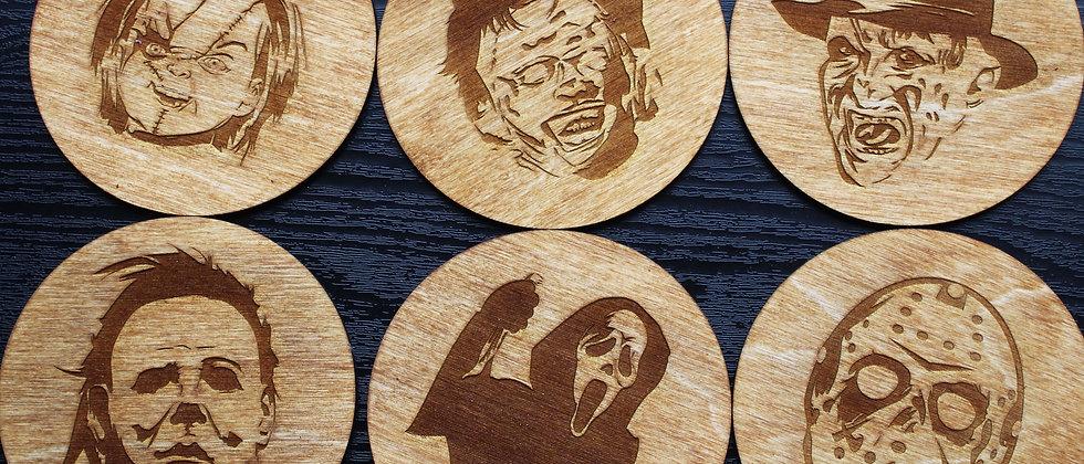 Horror Icons Coasters