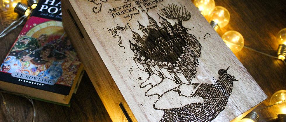 The Marauder's Map Keepsake Box
