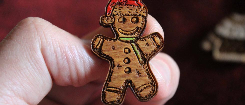 Gingerbread Man Pin