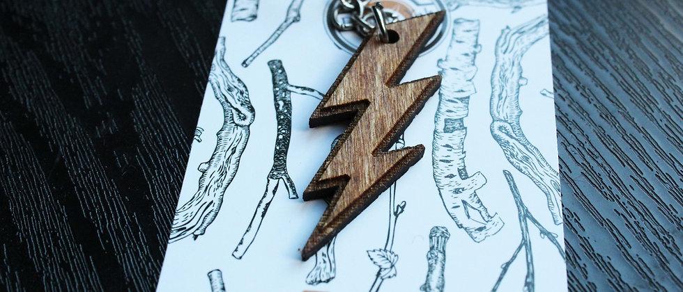 Lightning Bolt Keyring