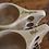 Thumbnail: Bilbo Inspired Nordic Style Wooden Mug