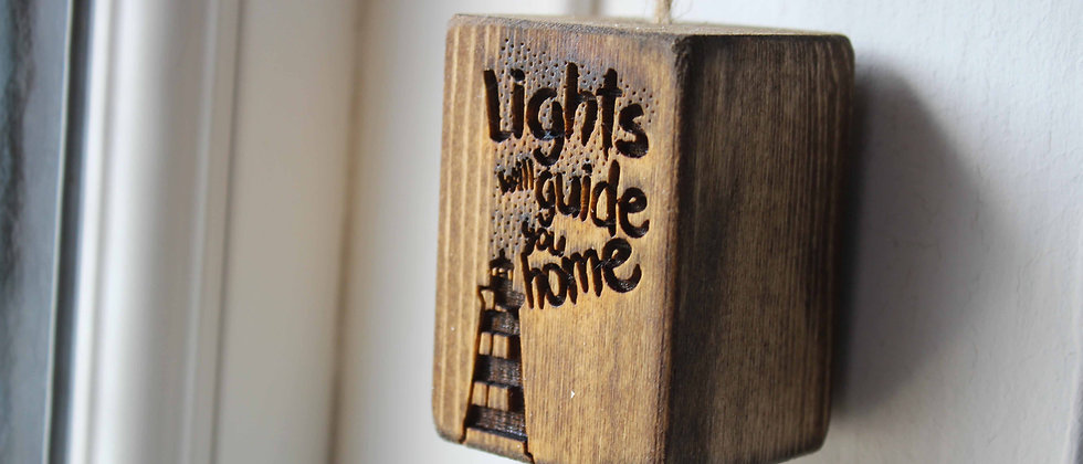 Lights Will Guide You Home Light Pull