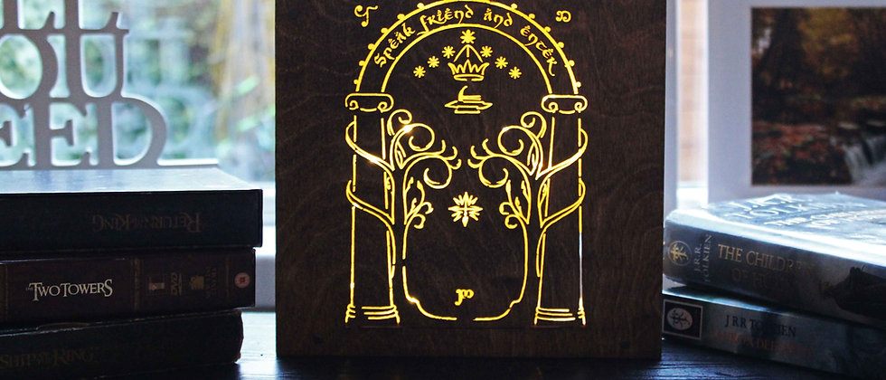 Durin's Door Light Box