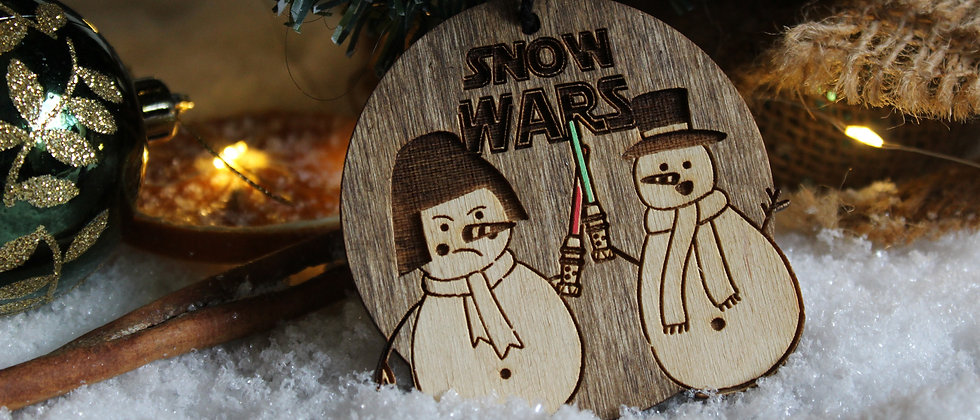 Snow Wars Christmas Bauble
