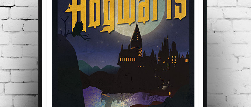 Welcome to Hogwarts Poster