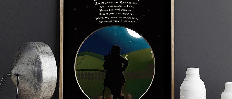 Bilbo's Poem Poster