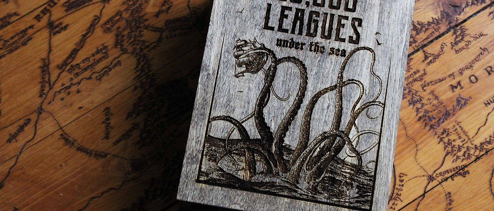 20,000 Leagues Under the Sea Book Box