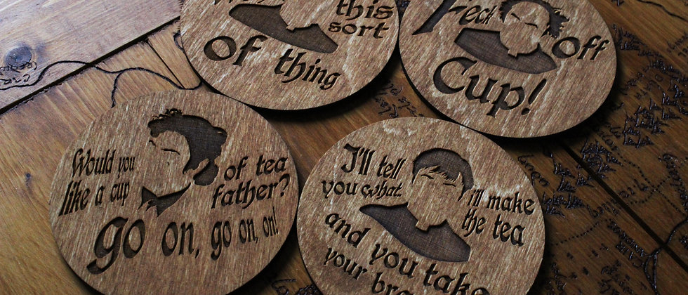 Father Ted Coasters