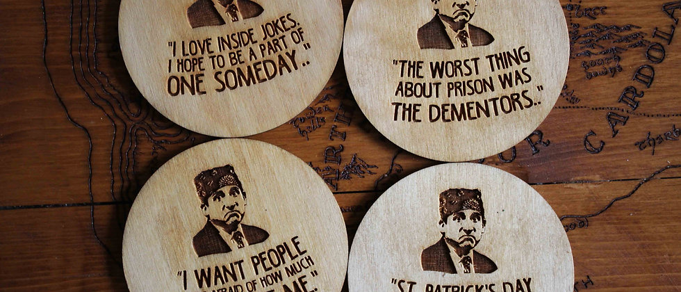 Michael Scott Coasters