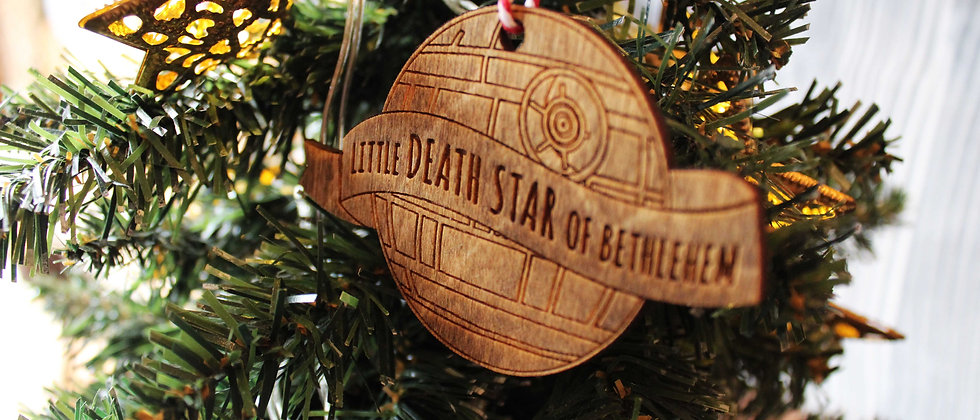 Death Star Bauble