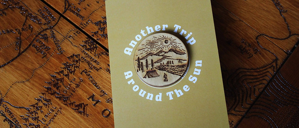 Another Trip Around The Sun - Greeting Card & Magnet