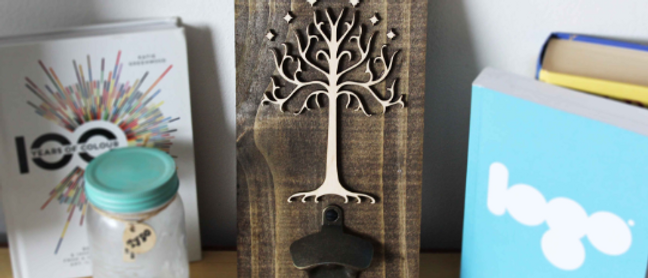 White Tree of Gondor Bottle Opener