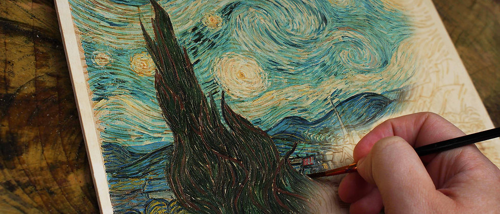Paint Your Own Van Gogh Kit